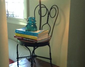 Unique Iron Chair Light