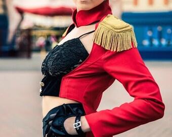 Lera Red Ringmaster Jacket