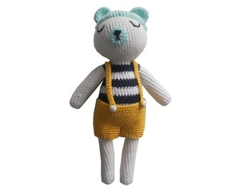 Crochet bear pattern GEORGE