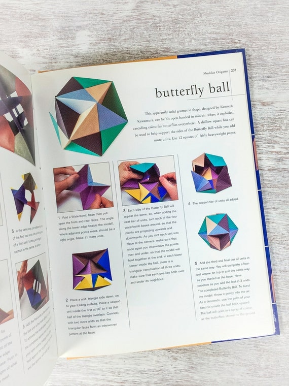 Origami Handbook by Rick Beech Origami Book Easy