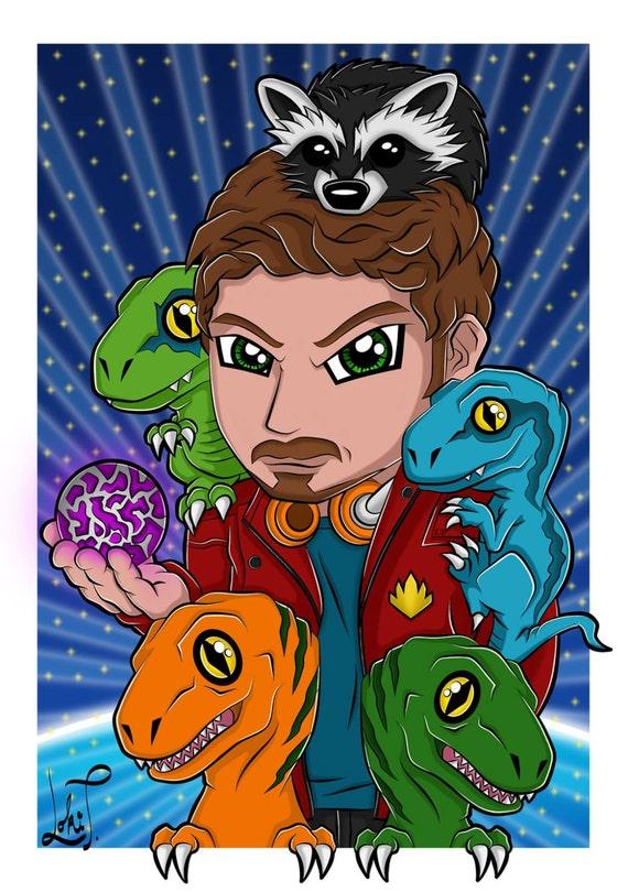 Webpage 433 Star Lord Chris Pratt Poster | INVESTINGBB