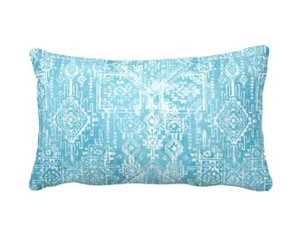 7 Sizes Available: Aztec Pillow Cover Blue Throw Pillow Cover Blue Pillow Cover Tribal Pillow Cover Lumbar Pillow Blue Cushion Cover Pillows
