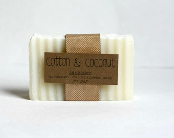 Hand-made, Cold Process Soap, you choose scent