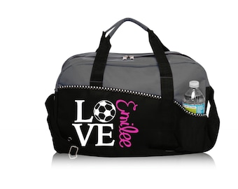 Personalized Soccer LOVE Bag