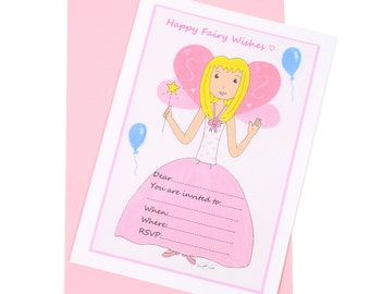 Fairy Invitation - 10 in each Pack
