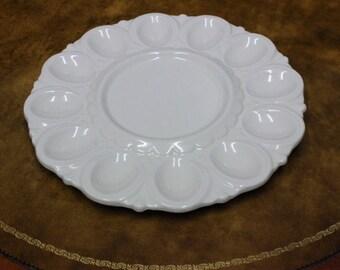 1959 Porcelain Deviled Egg Tray