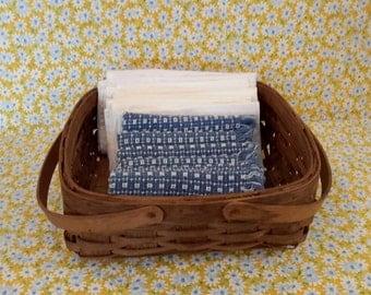 Bentwood Wicker Basket, Square Bentwood Basket, Fruit Basket, Gathering Basket, Home Decor, Gifts Under 50 Dollars