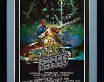 Star Wars Poster The Empire Strikes Back Framed