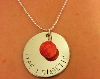 Disease awareness necklace