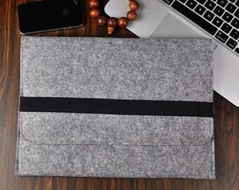 "Macbook laptop cover case 12"", Macbook sleeve , Felt laptop case 12 inch, 12 macbook case, macbook case  , gray bag,Christmas gift, 3A35"