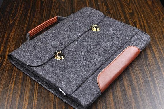 Leder Handtasche Laptop Etui Leder Aktentasche Asus