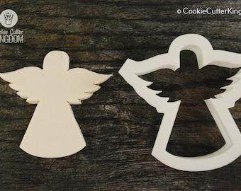 Angel Cookie Cutter, Mini and Standard Sizes, 3D Printed