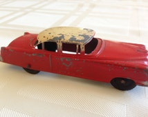 Tootsie Toy 1948 Cadillac Sedan with Rubber Wheels