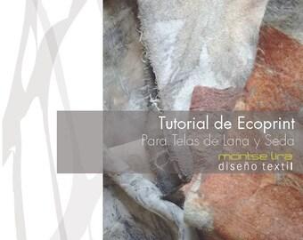 Tutorial Ecoprint en ESPAÑOL para telas de seda y lana. DIY