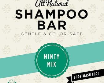Minty Mix Organic Shampoo Bar