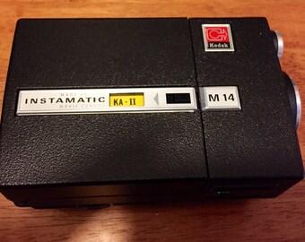 Vintage Kodak Instamatic M14 Movie Camera for Super 8 Movies