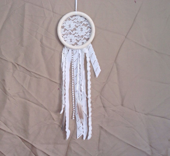 Hippie Chic Wall Decor : Dreamcatcher boho chic wall hanging