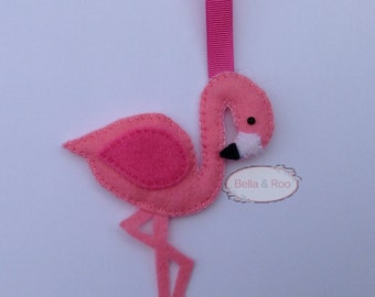 Flamingo Hanging Decoration or bag charm