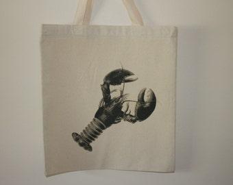 15x16 Lobster tote bag