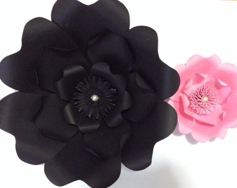 Large Paper Flower-Backdrop-Prop - Photo Booth-Wedding Backdrop-Nursery-Table Runner-Paper Flower Wall-Custom-Wall Decor-Birthd