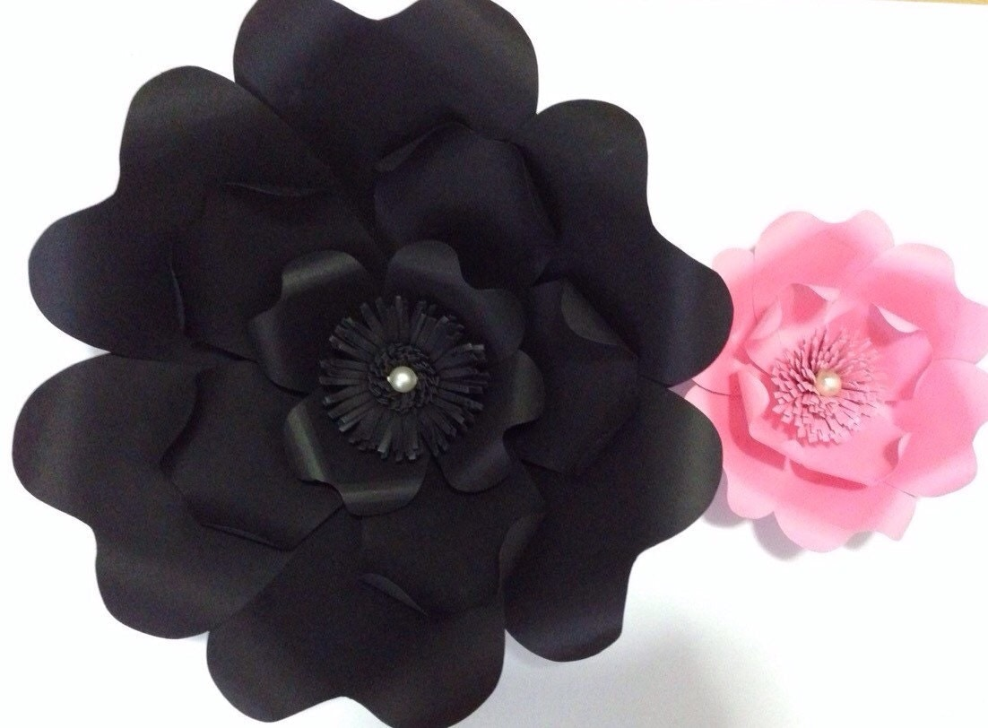 Large Paper Flower Backdrop Prop Photo Booth Wedding