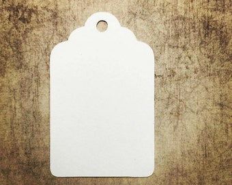 Favor or Gift Tags - Traditional Tags Blank Qty: 24 Tags