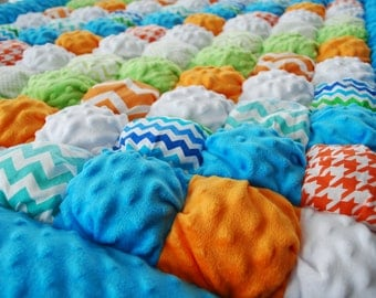 The Malcolm Toddler Puffy Quilt