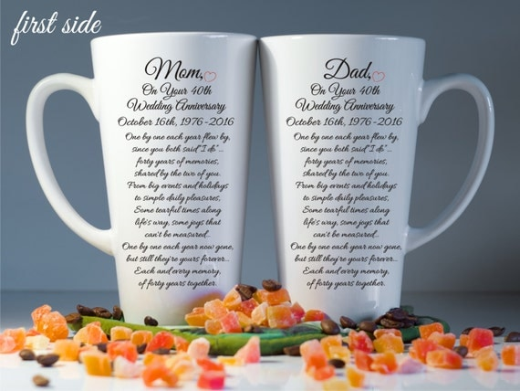 Anniversary gift for parents-20th/30th/40th/50th anniversary gift ...