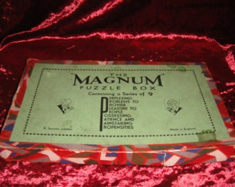 "R. Journet The ""Magnum"" Puzzle Box c1900's"