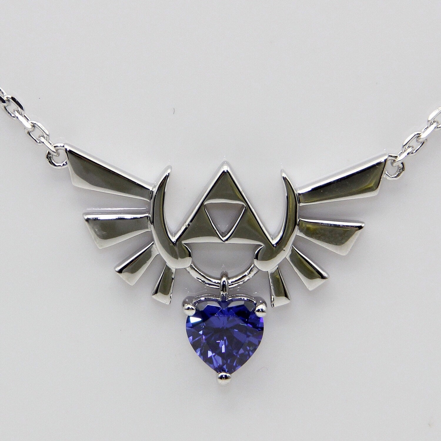 Zelda Heart Container Necklace: Heart Container 8 Bit Heart Video Game Necklace Wedding