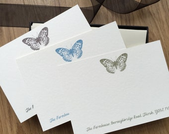Personalised Writing Cards/Correspondence Cards /Address Cards Address Notelets