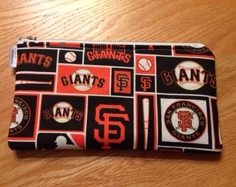 San Francisco Giants Zipper Pencil Pen Pouch