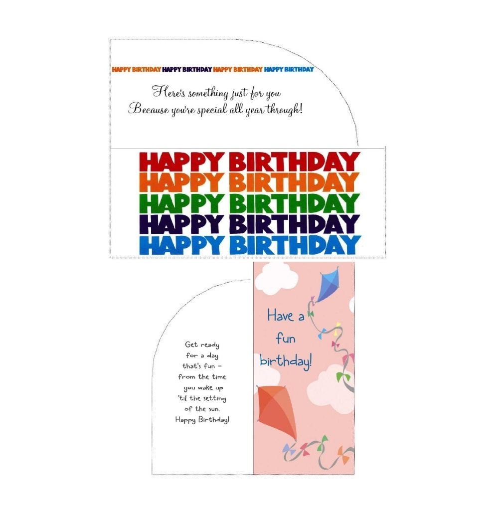 Birthday Money Gift Cards Envelope Lot Of 2 By CyberNation