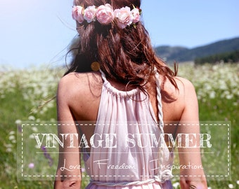 NEW Dream Maxi Dress, Vintage Summer Dress, Boho dress, Bohemian dress, Floor lenght, Bridesmaids dress, Wedding dress, Engagement dress
