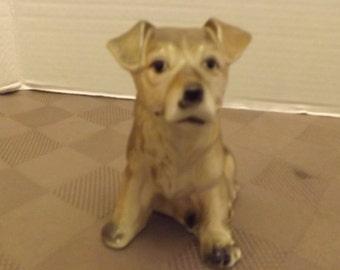 Dog Figurine Breed Unknown - Marked