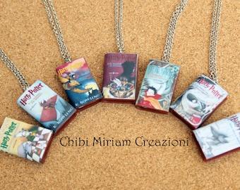 Harry Potter Books Necklaces