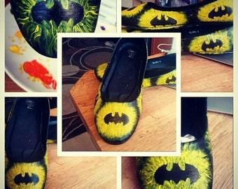 Batman Inspired Flats.