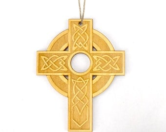 Celtic Cross (#1) Christmas Ornament