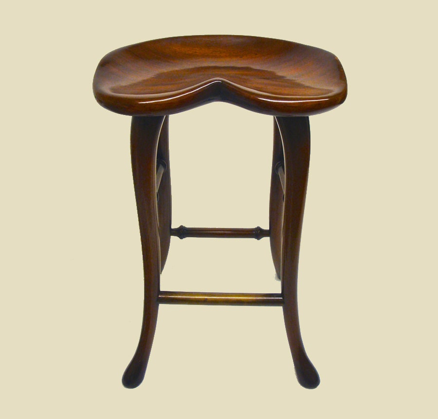 Queen Anne bar stools made of Mahogany by the company : ilfullxfull824866462a3d4 from www.etsy.com size 900 x 860 jpeg 65kB