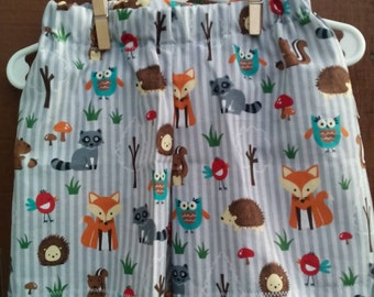 Boys Forest Friends Basic Shorts