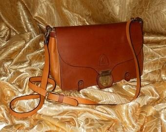 Genuine vintage bag / genuine leather