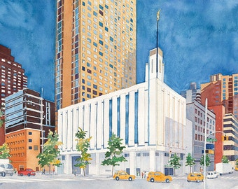 LDS  (Mormon) Manhattan, NY Temple