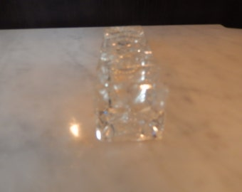 CRYSTAL HAND CUT Perfume Bottle
