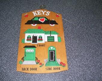 Key Holder  Key Board Key Rack Vintage