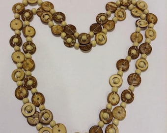 Coconut Rings Necklace
