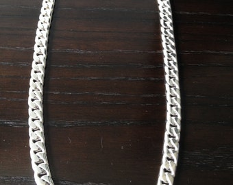 Mens Thick and Heavy chain Barbado / planchado model for men.