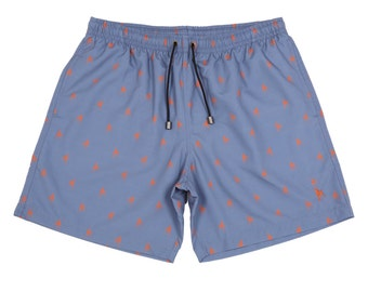 Grey Slate The Hound Men's Swimwear