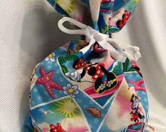 minnie mouse, gift bag, for her, women, teens, birthday gift, christmas gift, summertime fun