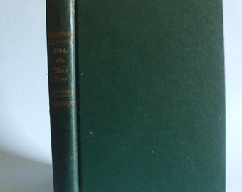 Cannon Hill by Mary Deasy 1949 Vintage Green Book