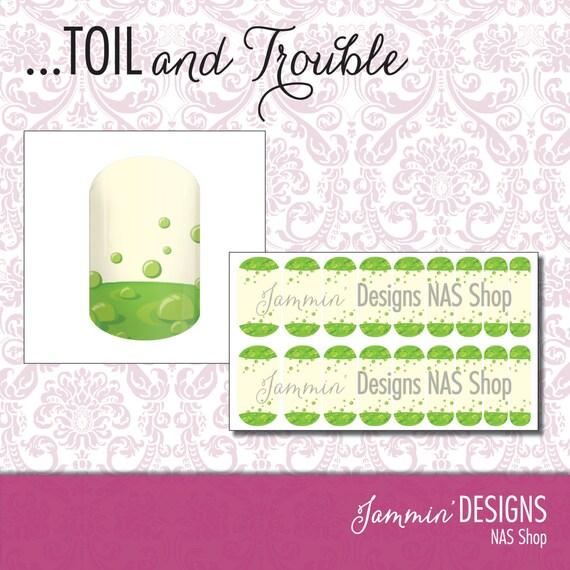 Toil and Trouble NAS (Nail Art Studio) Design